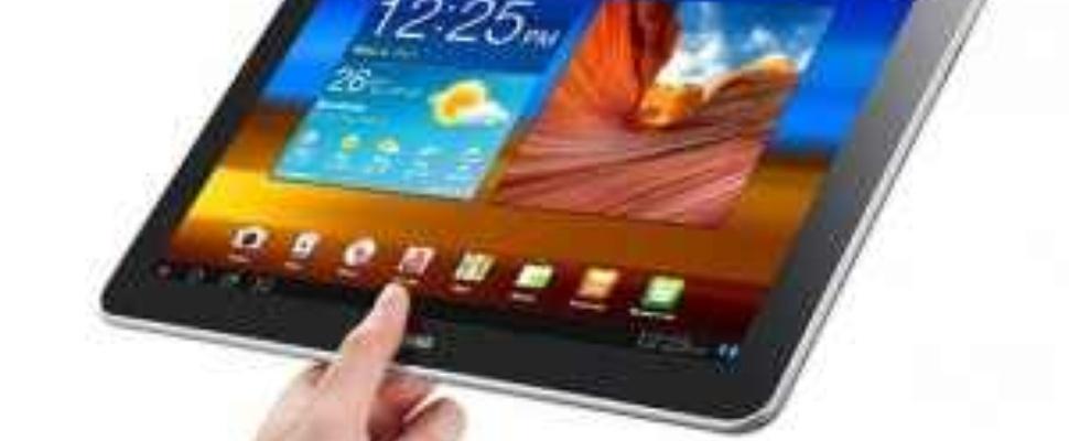 Verkoopverbod Galaxy Tab 10.1 in Europa opgeheven