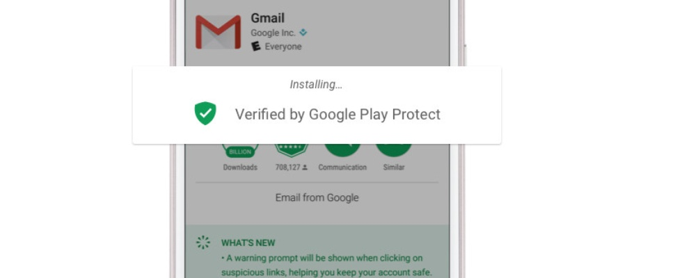 Google Play Protect moet Android-malware stoppen