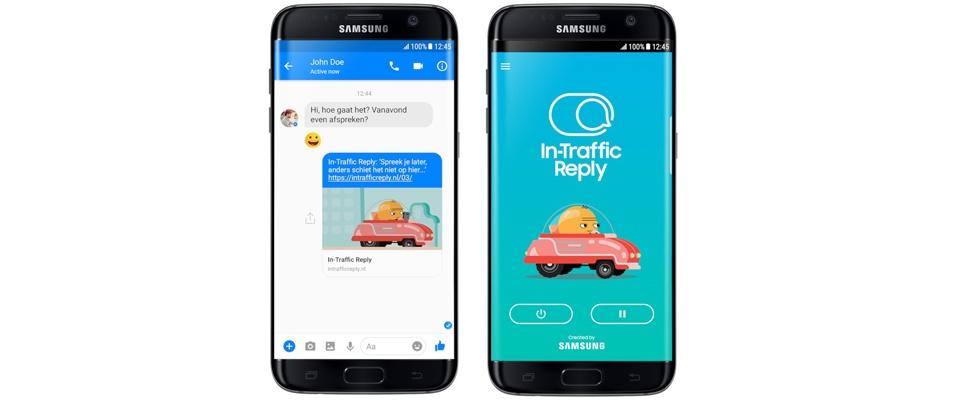 Verkeersveiligheid-app standaard op ieder Samsung-toestel