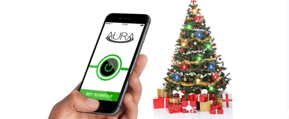 Draadloze lampjes voor in de kerstboom met Aura   Computer Idee