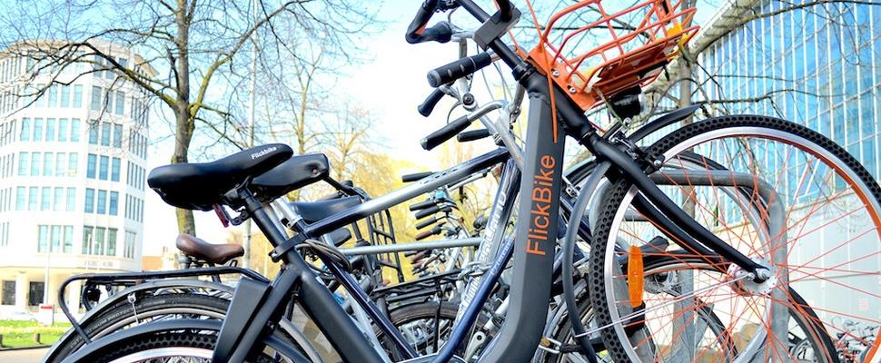 'Deelfietsen' in Amsterdam met app te ontgrendelen