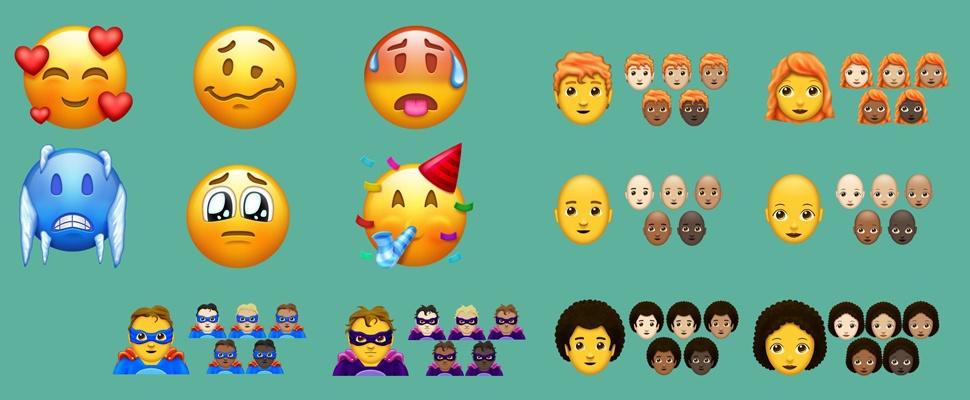 Nieuwe emoji in 2018: Superhelden, roodharigen en lama's