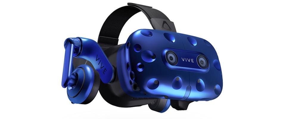 HTC start verkoopt Vive Pro-headset
