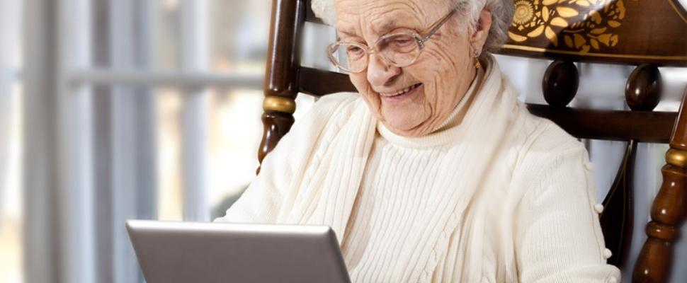 Nederlandse ouderen massaal aan tablet