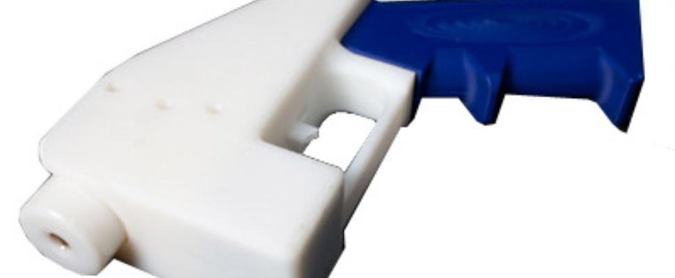 'Liberator'-pistool gemaakt met 3d-printer