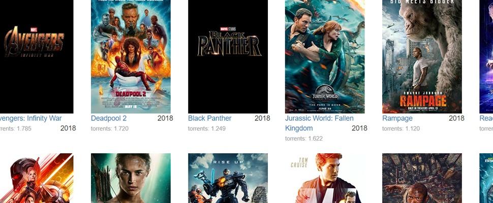 Avengers: Infinity War vaakst illegaal gedownload in 2018