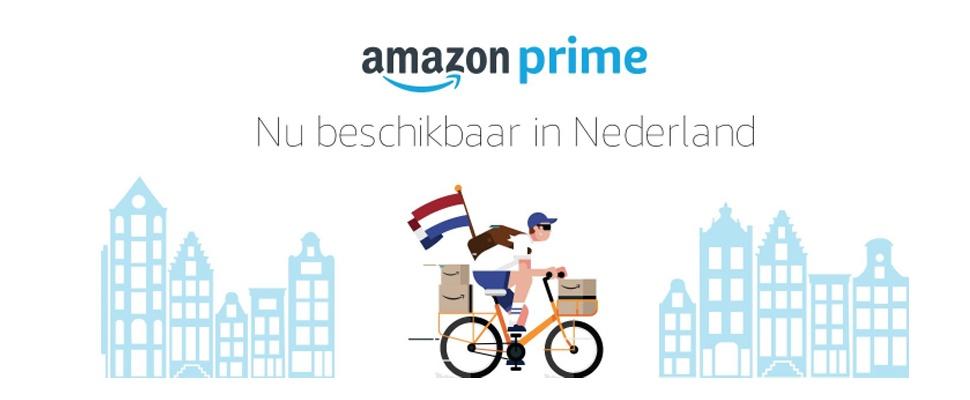 Amazon Prime: Gratis bezorging ook in Nederland