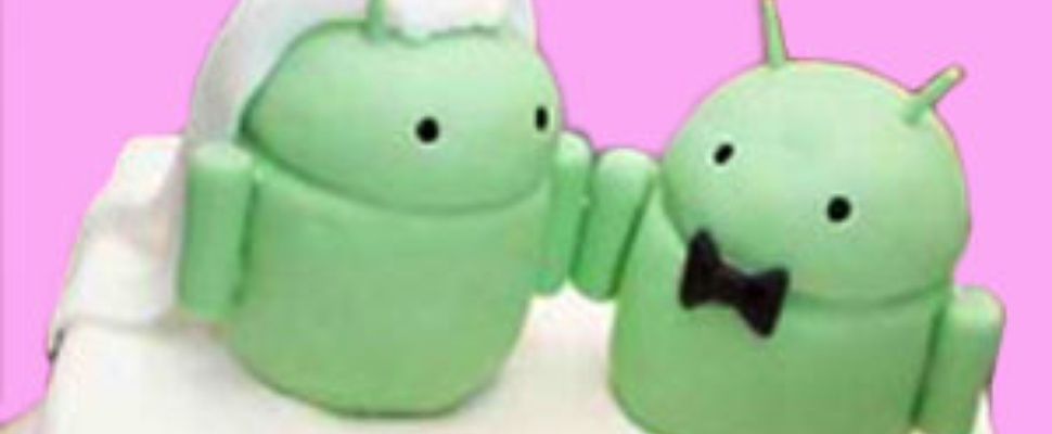 Android huwelijksaanzoek