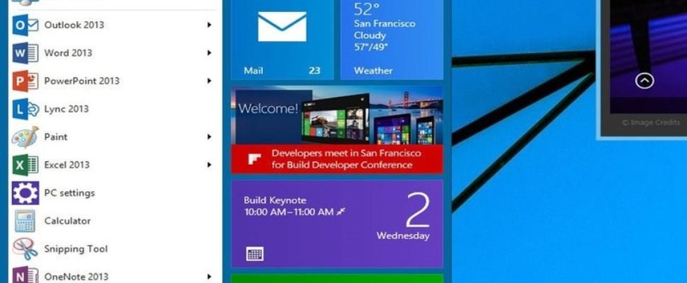 Wat mogen we vanavond van Windows 9 verwachten?