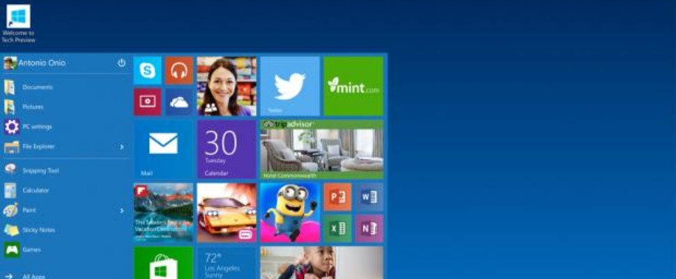 'Windows 10 komt in januari als consumenten-preview'