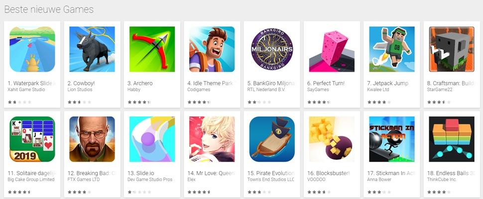 Driekwart mobiele bestedingen gaat op aan games
