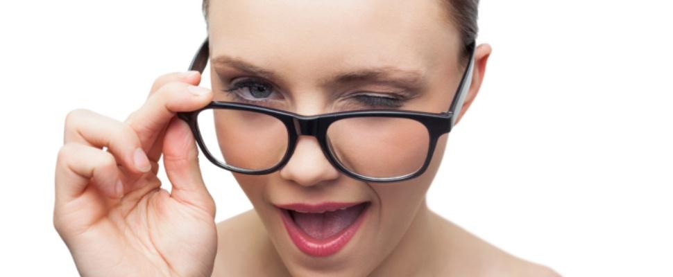 Knipoog om foto's te maken met Google Glass