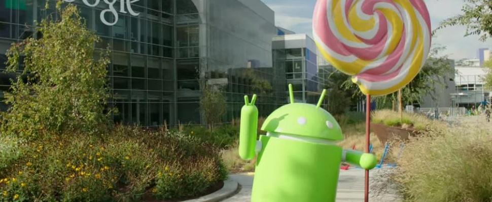 Google brengt Android Lollipop 5.1 uit