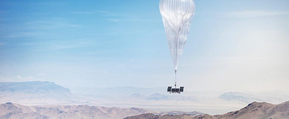 Internetballonnen Google blijven voortaan aan de grond