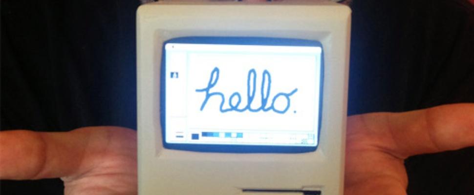 Mini Mac: Miniatuur Macintosh met Raspberry Pi
