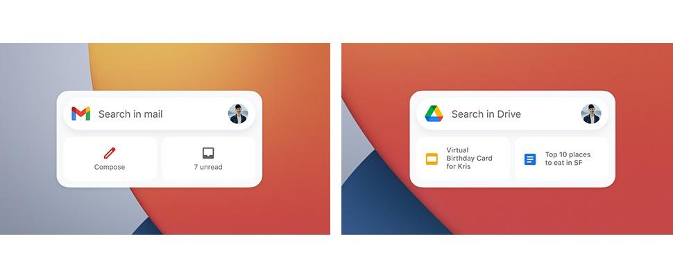 Google brengt meer widgets naar iOS 14