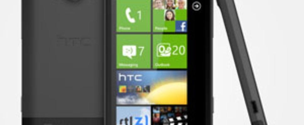 WP7 Mango-telefoons van HTC