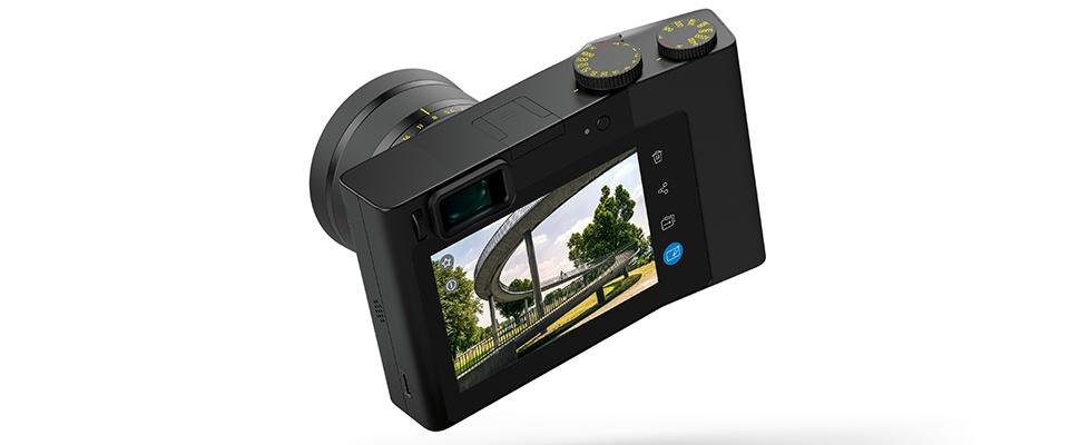 Zeis ZX1-camera heeft Photoshop aan boord
