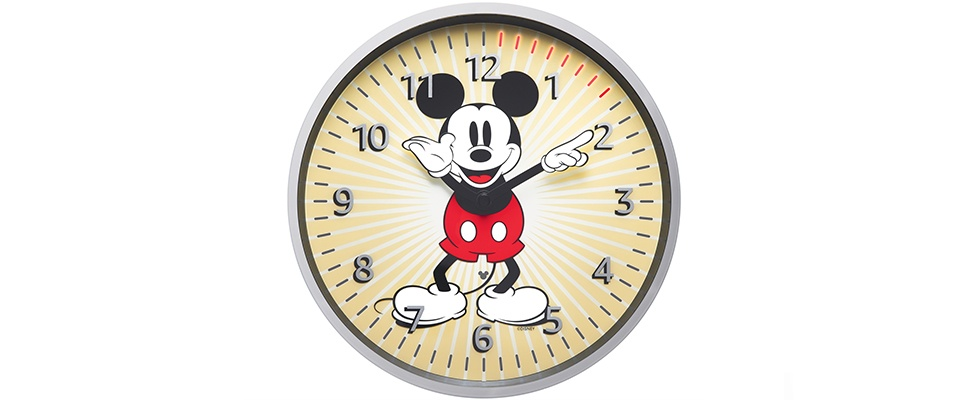 Mickey Mouse prijkt op nieuwe Echo Wall Clock