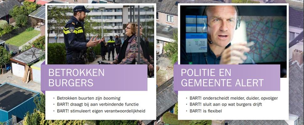 Betere samenwerking burgers en politie door nieuw meldingssysteem BART!