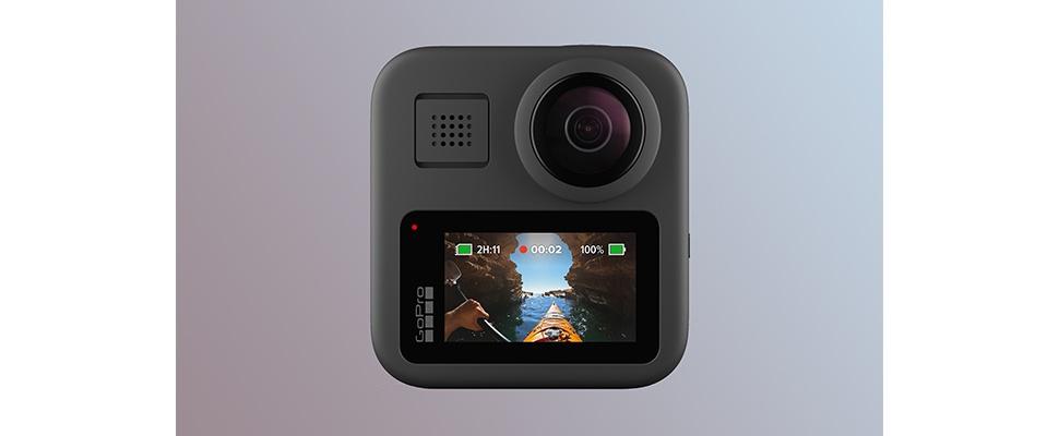 GoPro Max 360 met schermpje voor vloggers