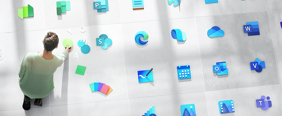 Nieuw logo voor Windows en vele andere Microsoft-diensten