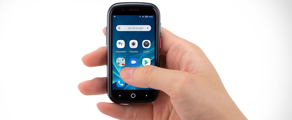 Jelly 2-smartphone is even klein als bankpas