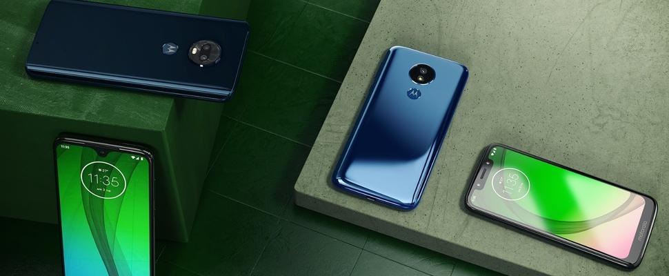 Moto G7 serie aangekondigd