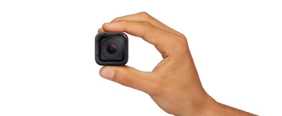 Hero 4 Seesion: GoPro in een blokje