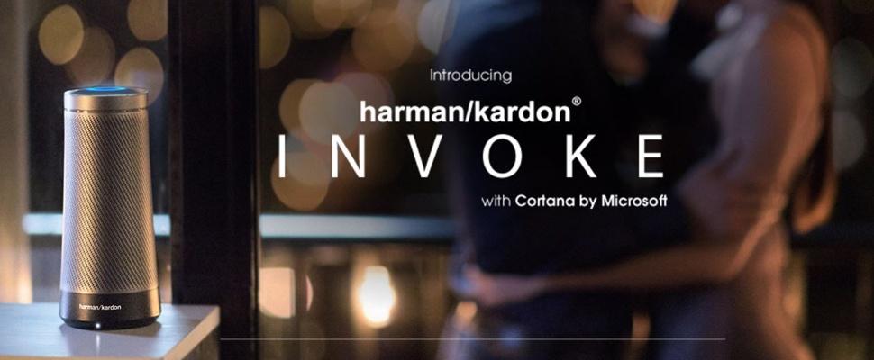 Microsoft en Harman Kardon werken aan slimme speaker