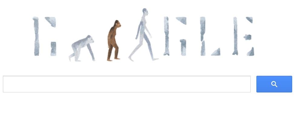 Lucy de Australopithecus herondekt door Google