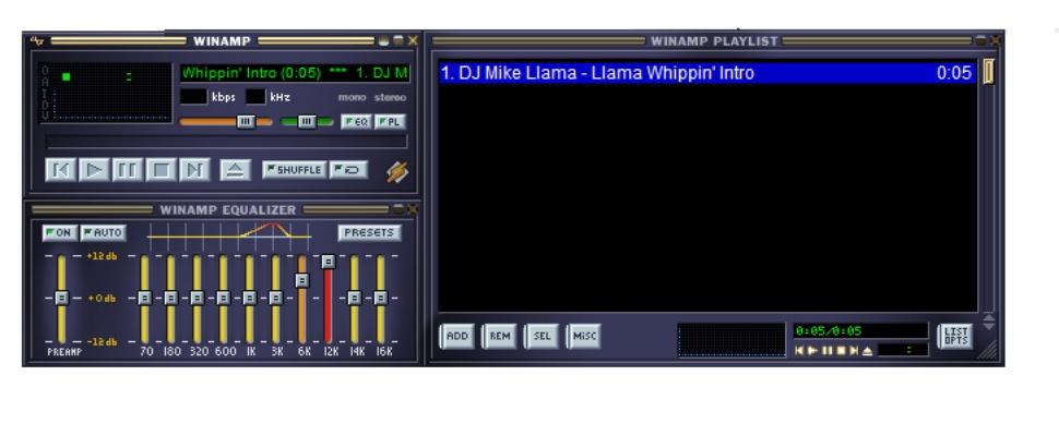 Audiospeler Winamp komt terug met nieuwe versie