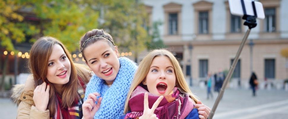 Britse studenten krijgen selfie-les