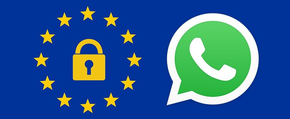 Hoge boete voor WhatsApp vanwege privacyschending