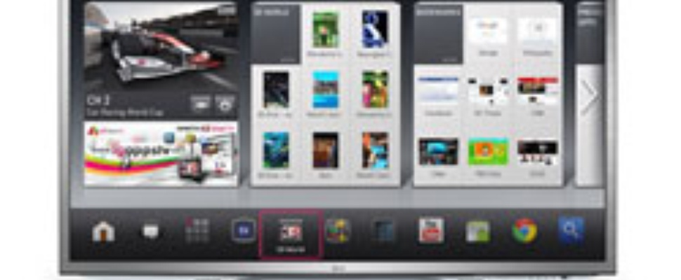 Google TV van LG op CES 2012