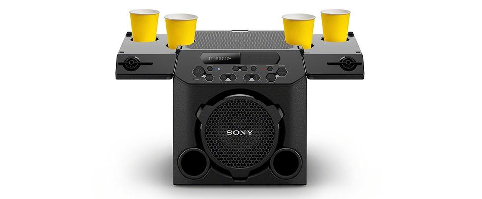 GTK-PG10-speaker houdt je biertje vast