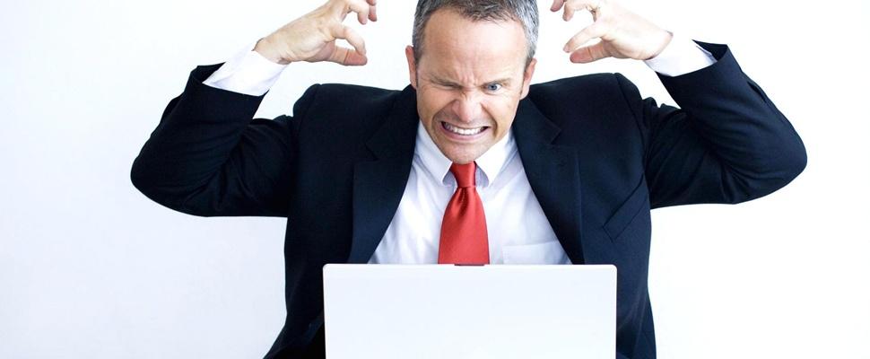 Kwart Nederlanders schreeuwt tegen zijn computer