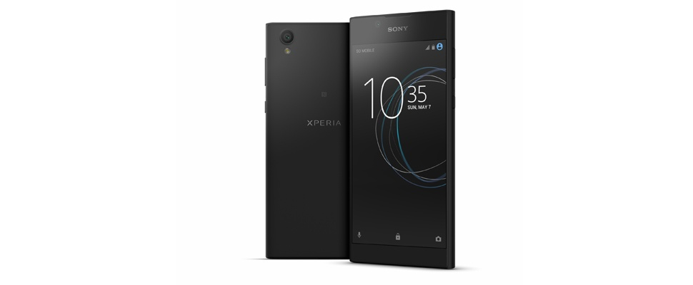 Sony onthult goedkope Xperia L1