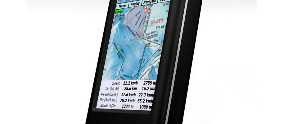 GPS-apparaat voor wintersporters