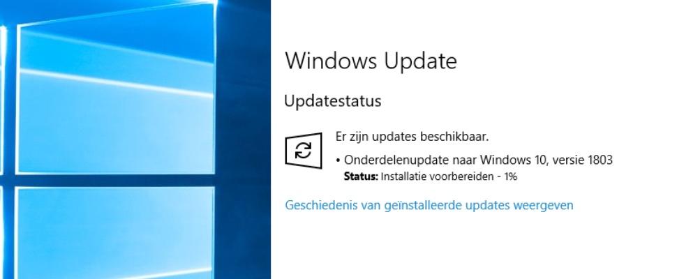 Windows 10 Spring Creators Update nu beschikbaar
