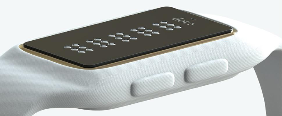 Dot is 's werelds eerste braille-smartwatch