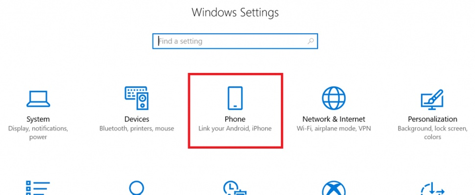 Microsoft toont koppeling Android-telefoon met Windows 10
