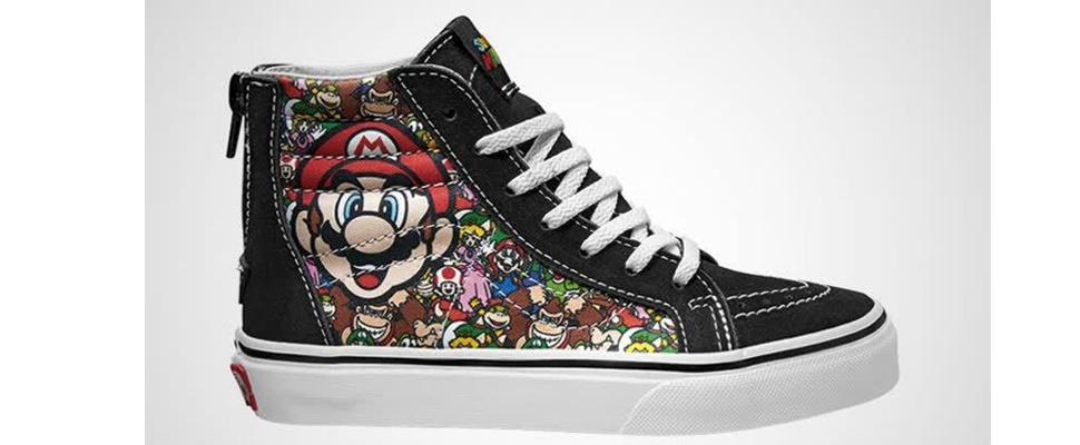 vans schoenen met rits