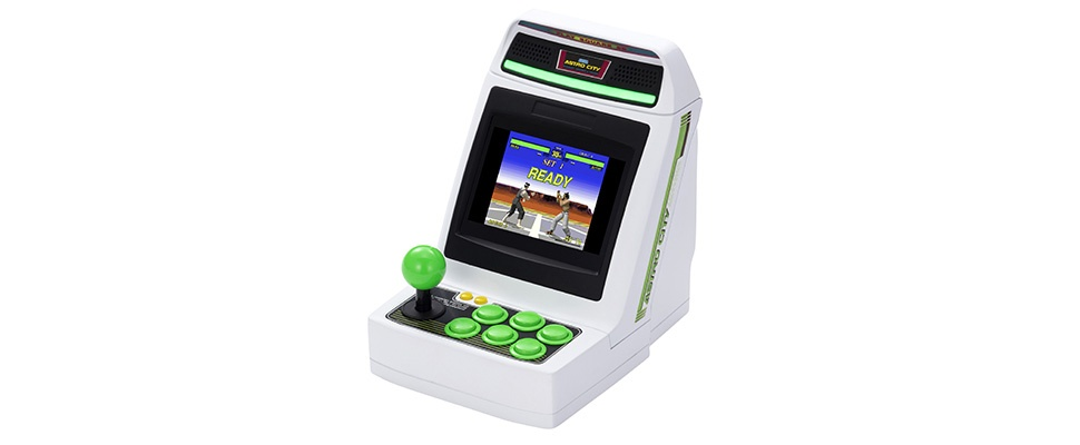 Sega Astro City Mini: Arcadekastje vol games