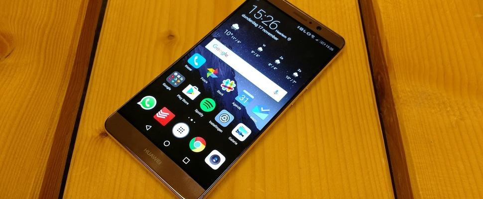 Review Huawei Mate 9: Prijzige topper heeft weinig concurrentie