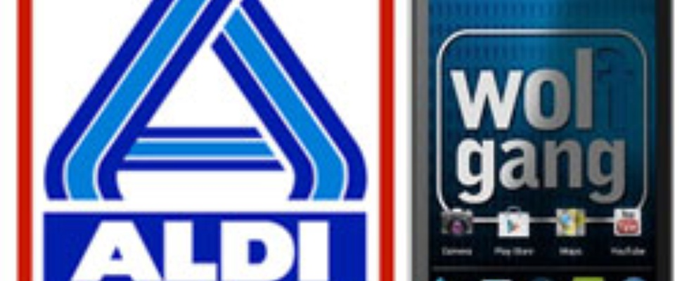 Aldi Wolfgang AS43D2 Android 4 smartphone op 1 september