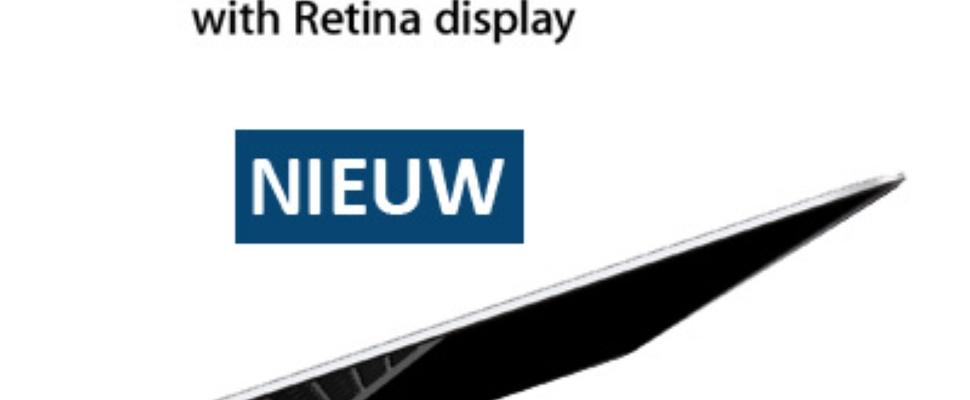 Apple MacBook Pro Retina sneller en goedkoper