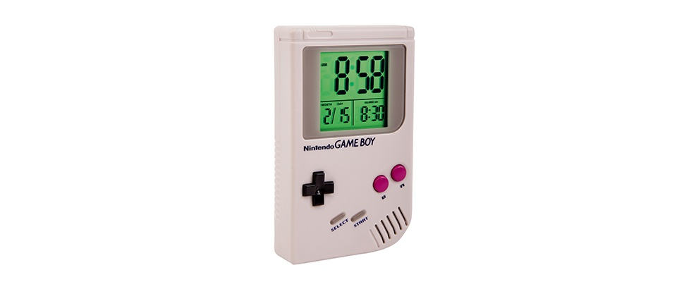 Altijd vrolijk wakker met de Game Boy Alarm Clock