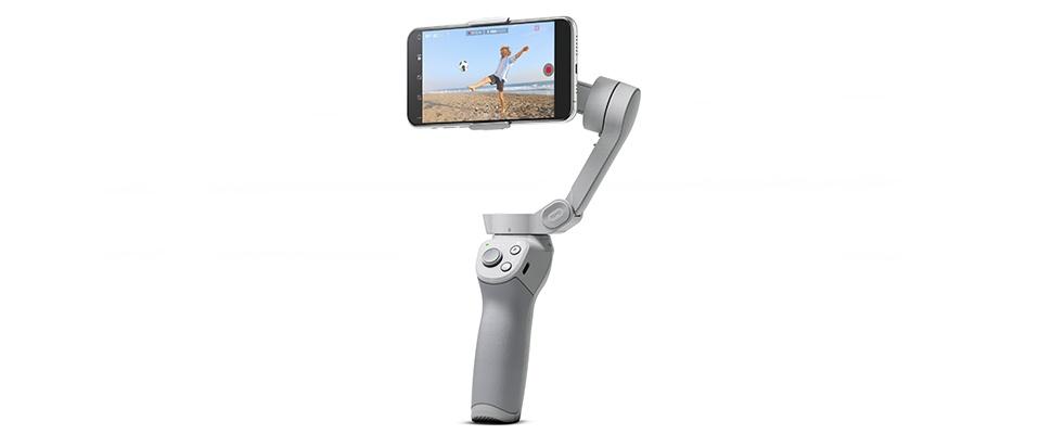 DJI Om 4-gimbal zorgt voor stabiele smartphone-video's