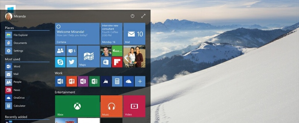 Windows 10-preview te downloaden voor iedereen